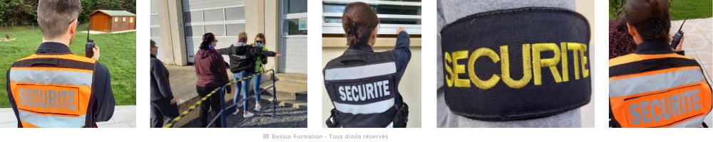 Agent de sécurité - Frise 2