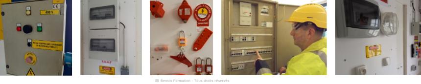 Habilitations électriques - Frise 1