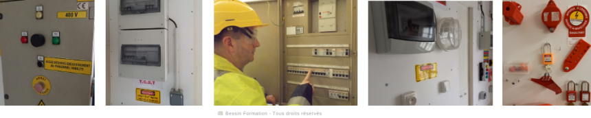 Habilitations électriques - Frise 2